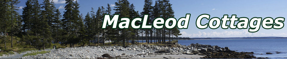 MacLeod Cottages in Nova Scotia, Canada