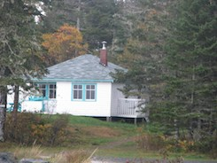 Cottage along the South Shore of Nova Scotia