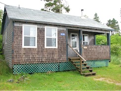 Oceanfront cottage for rent in Nova Scotia